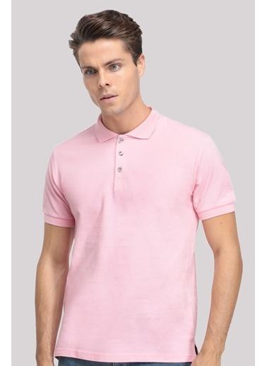 D'S Damat Regular Fit T-Shirt Pembe